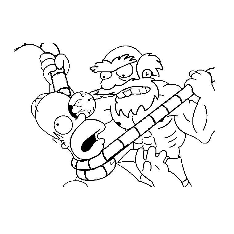 109 dessins de coloriage simpson à imprimer sur LaGuerche ...