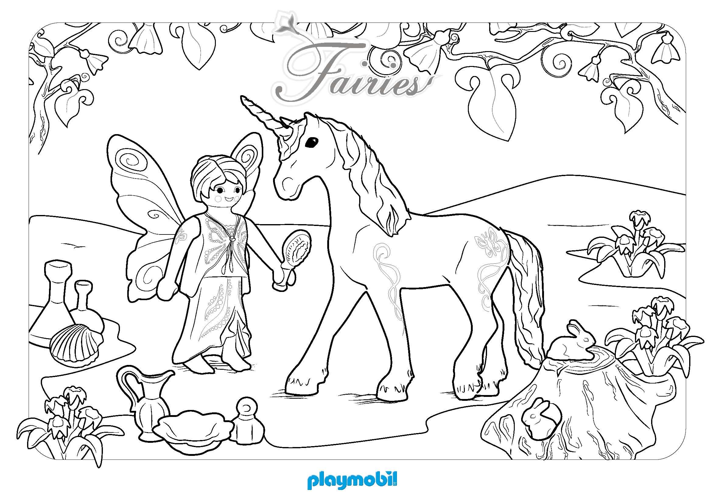 80 dessins de coloriage licorne imprimer sur laguerche - Licorne dessin ...