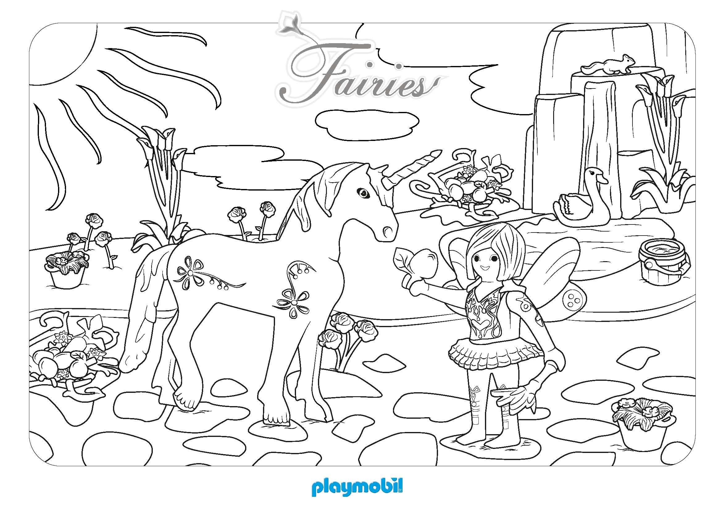 80 dessins de coloriage licorne à imprimer sur LaGuerche.com - Page 5