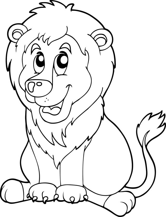 108 Dessins De Coloriage Lion à Imprimer Sur Laguerchecom Page 2