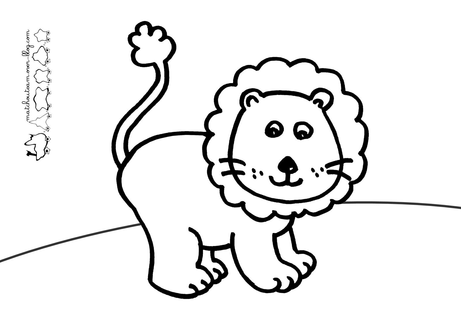 108 Dessins De Coloriage Lion A Imprimer Sur Laguerche Com Page 8