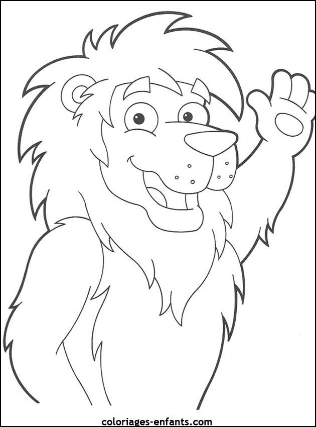 108 Dessins De Coloriage Lion A Imprimer Sur Laguerche Com Page 10