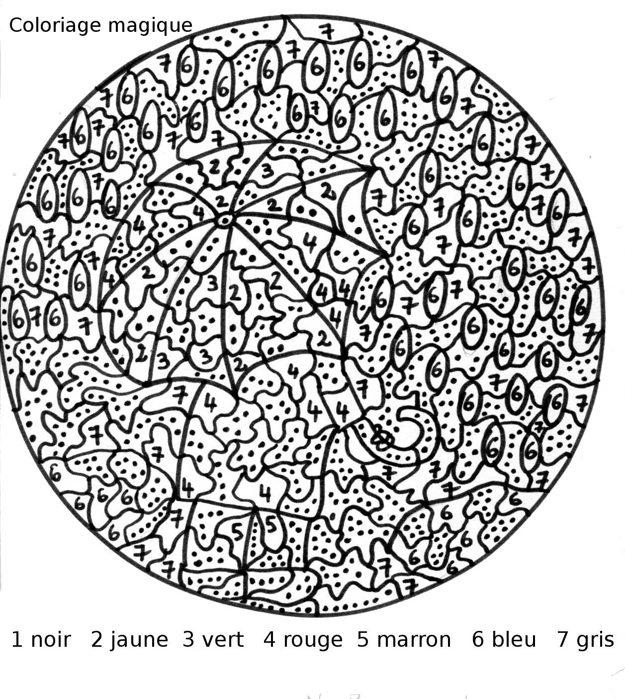 66 dessins de coloriage magique imprimer sur laguerche - Magique gratuit ...