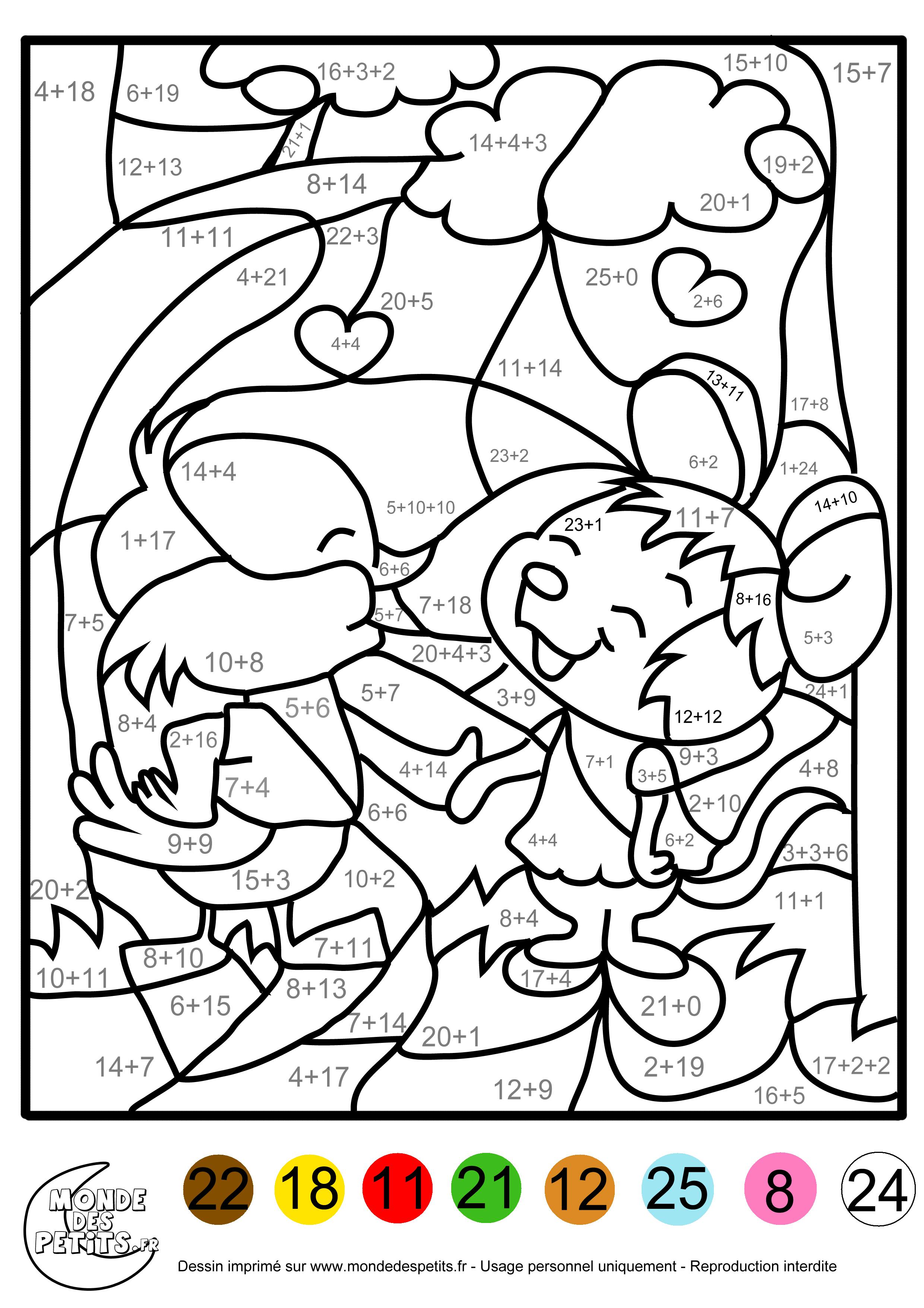 66 dessins de coloriage magique à imprimer sur laguerche com page 2