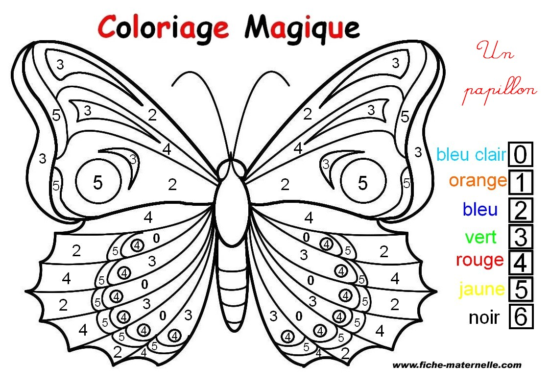 HD wallpapers coloriage numerote gratuit a imprimer