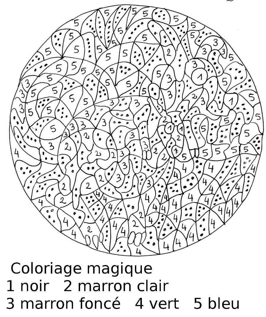 image 21195 coloriage magique gratuit - Coloriage Magique A Imprimer