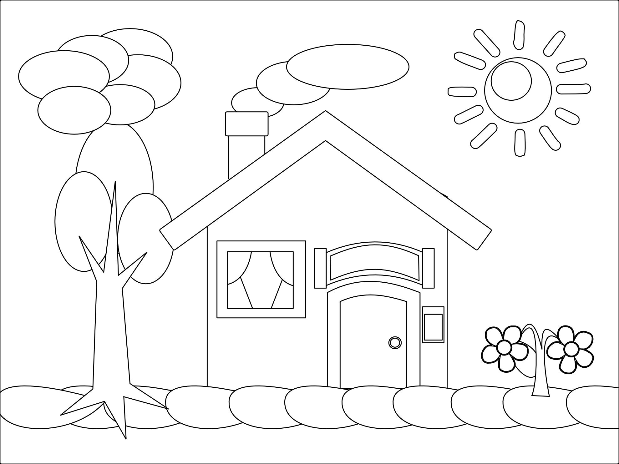 87 dessins de coloriage maison à imprimer sur laguerche com page 9