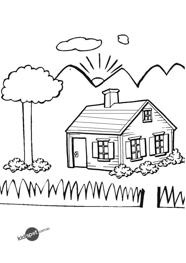 87 Dessins De Coloriage Maison À Imprimer Sur Laguerche.Com - Page 9