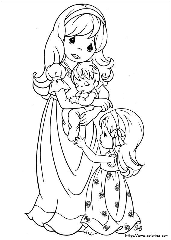 dessin 15230 coloriage gratuit maman a imprimer - Coloriage De Maman