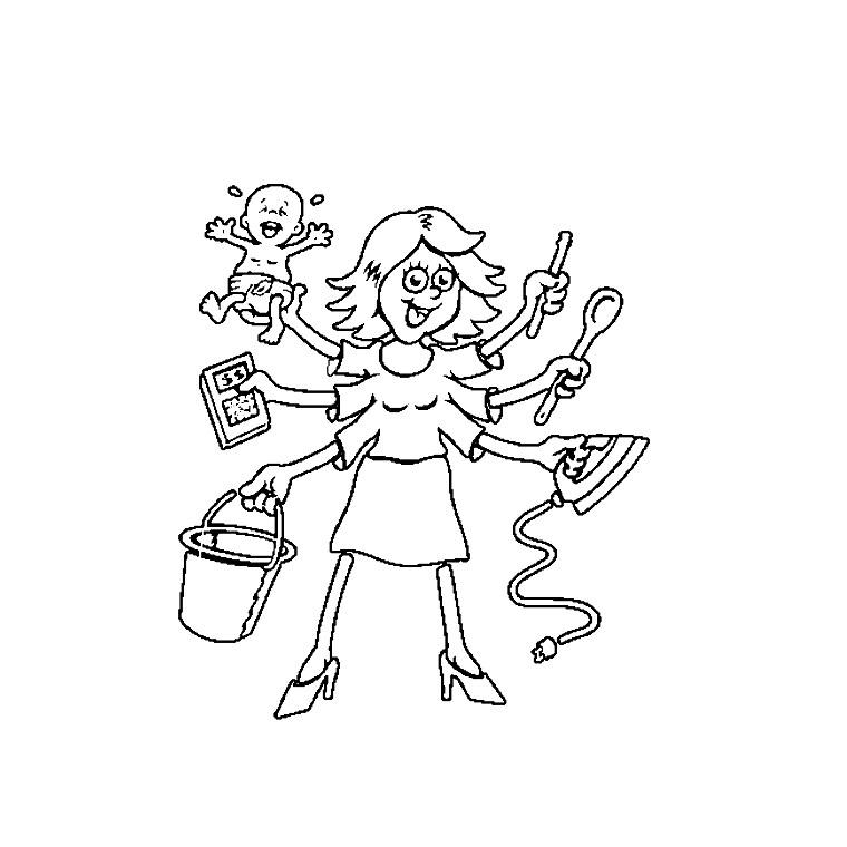 35 dessins de coloriage maman à imprimer sur LaGuerche.com ...