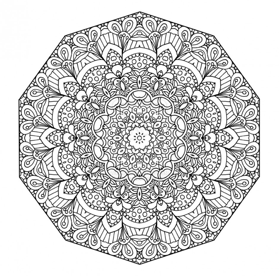 84 dessins de coloriage mandala imprimer sur page 2. Black Bedroom Furniture Sets. Home Design Ideas