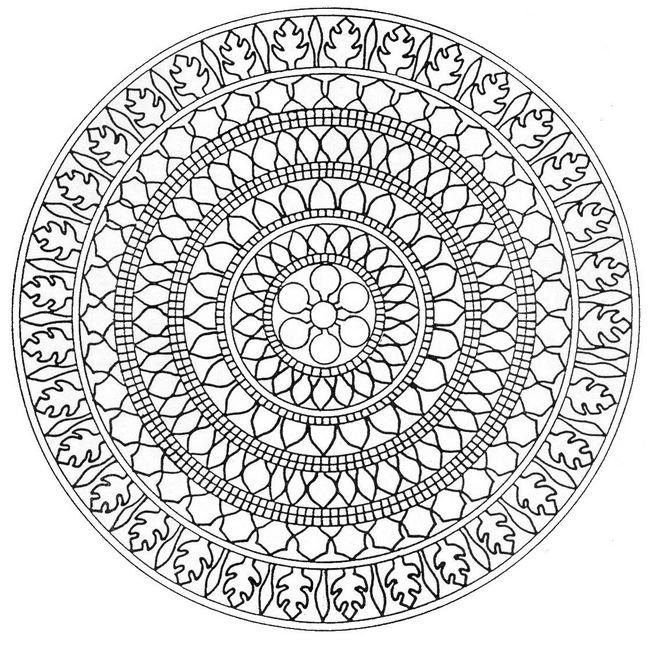 84 Dessins De Coloriage Mandala A Imprimer Sur LaGuerche