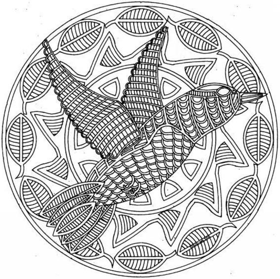 image 21404 coloriage mandalas animaux gratuit