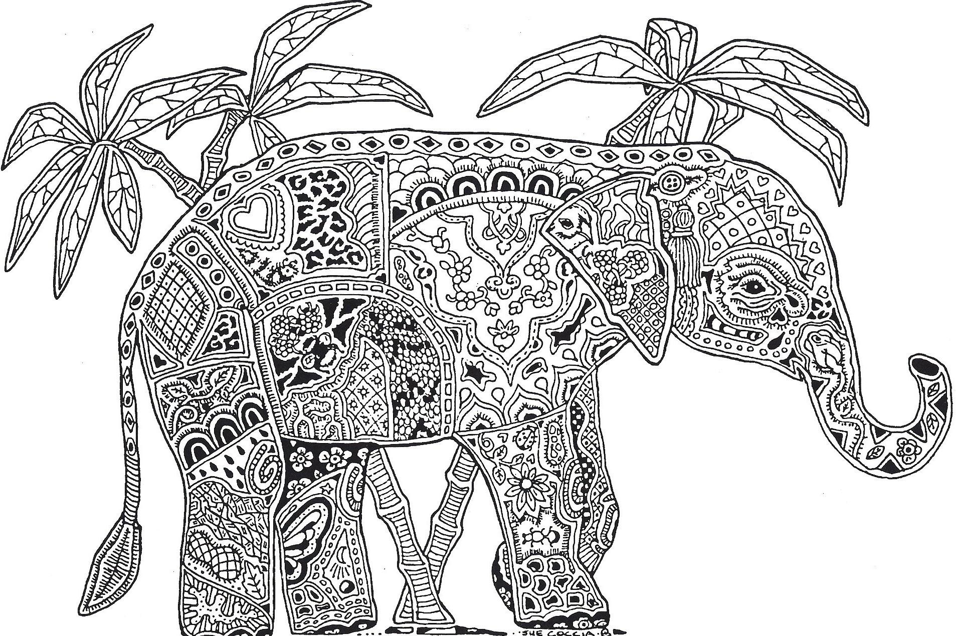 64 dessins de coloriage mandalas animaux imprimer sur page 6. Black Bedroom Furniture Sets. Home Design Ideas