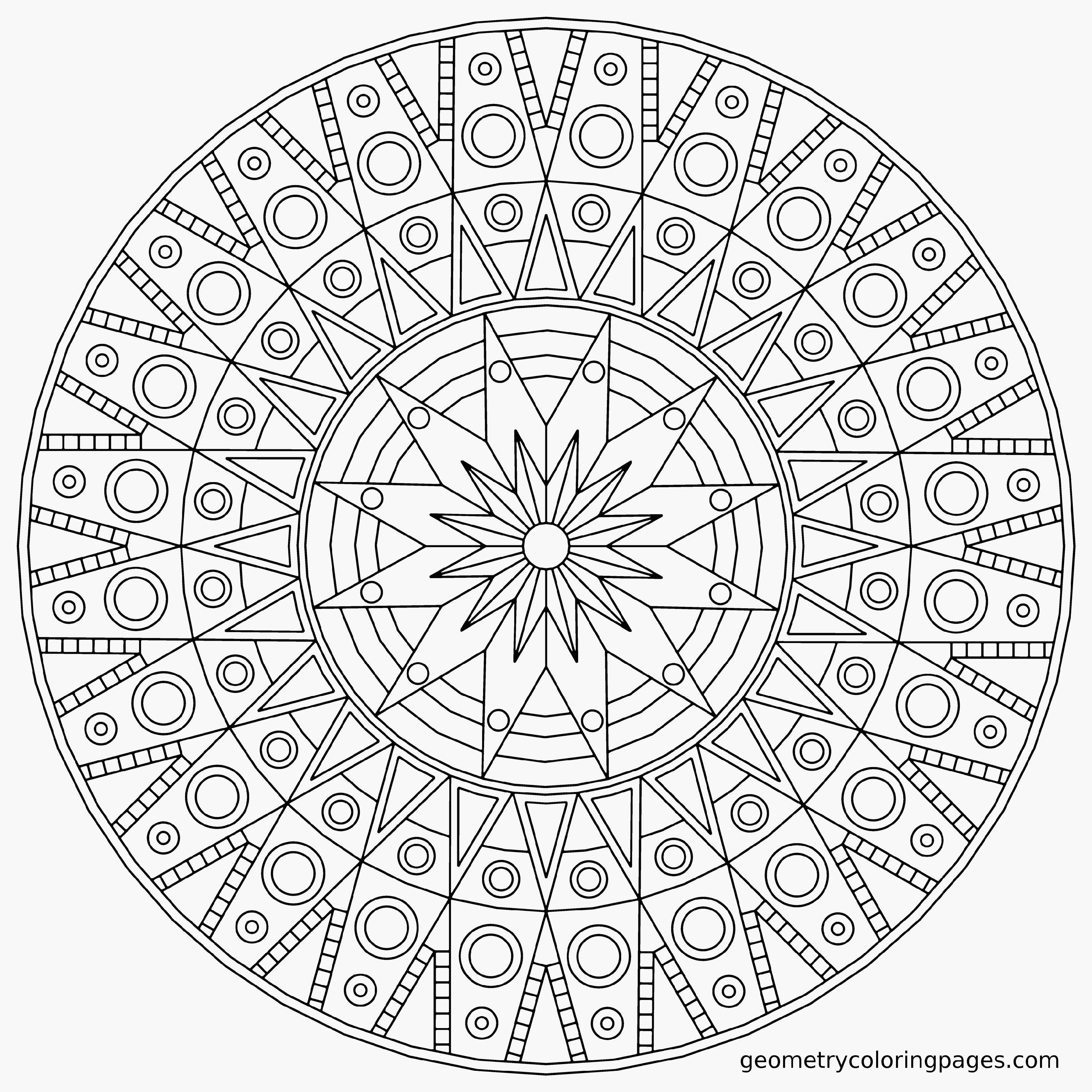 Image Coloriage mandalas difficile gratuit