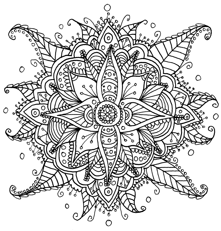 63914 on free printable mandala patterns