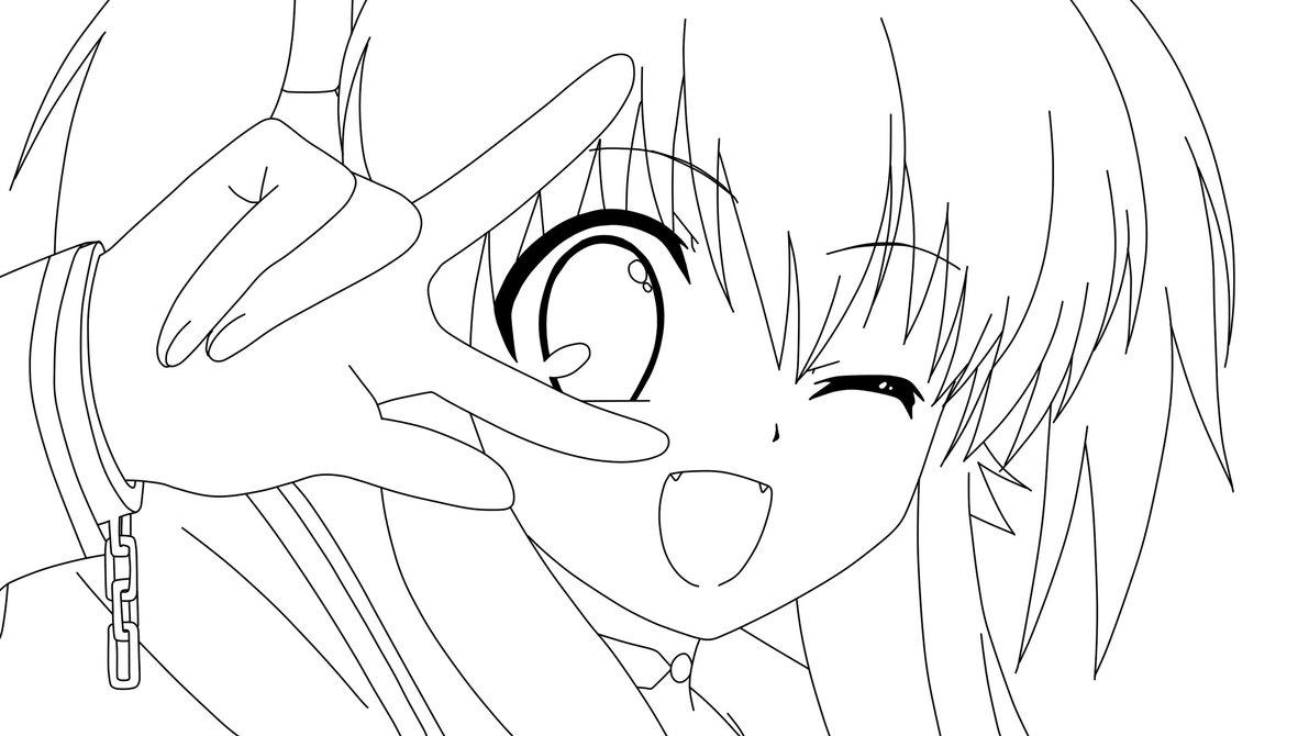 84 dessins de coloriage manga imprimer sur - Dessin de manga a colorier ...