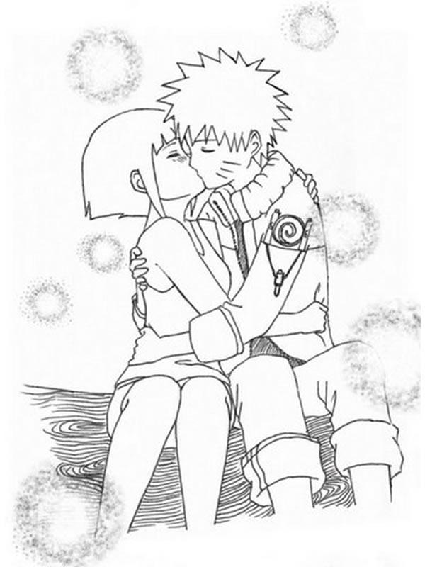 Coloriage manga gratuit - dessin a imprimer #126