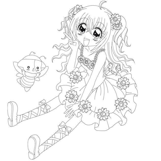 coloriage manga gratuit dessin a imprimer 133