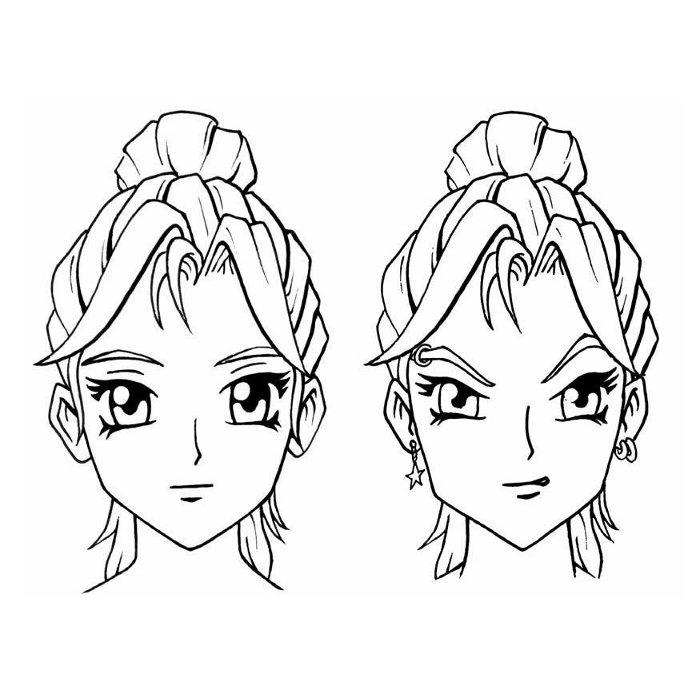 84 dessins de coloriage manga imprimer sur - Dessin naruto en couleur ...