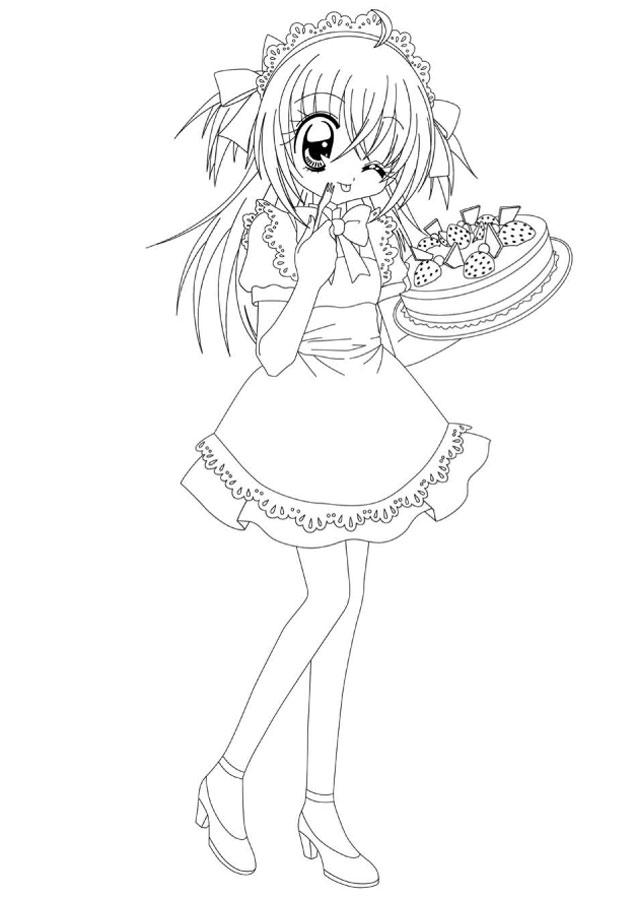 coloriage manga gratuit dessin a imprimer 177