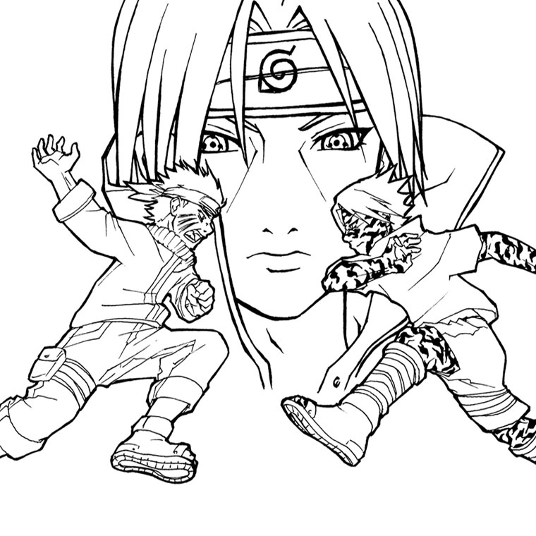 84 dessins de coloriage manga à imprimer sur LaGuerche.com ...