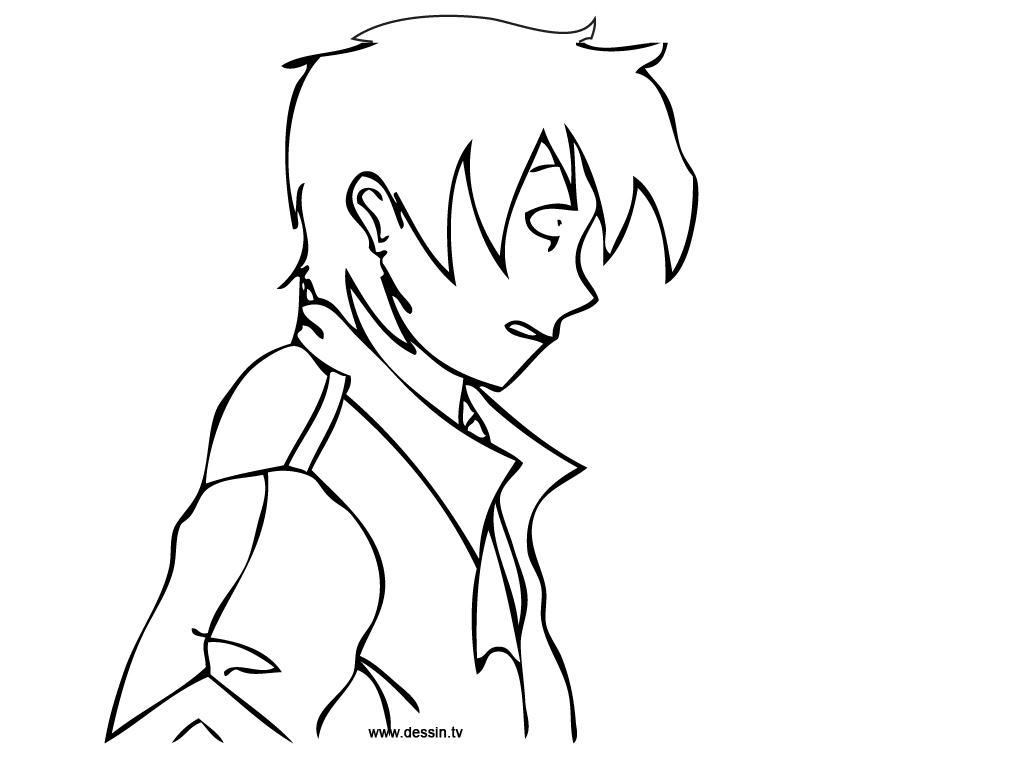 84 dessins de coloriage manga  u00e0 imprimer sur laguerche com