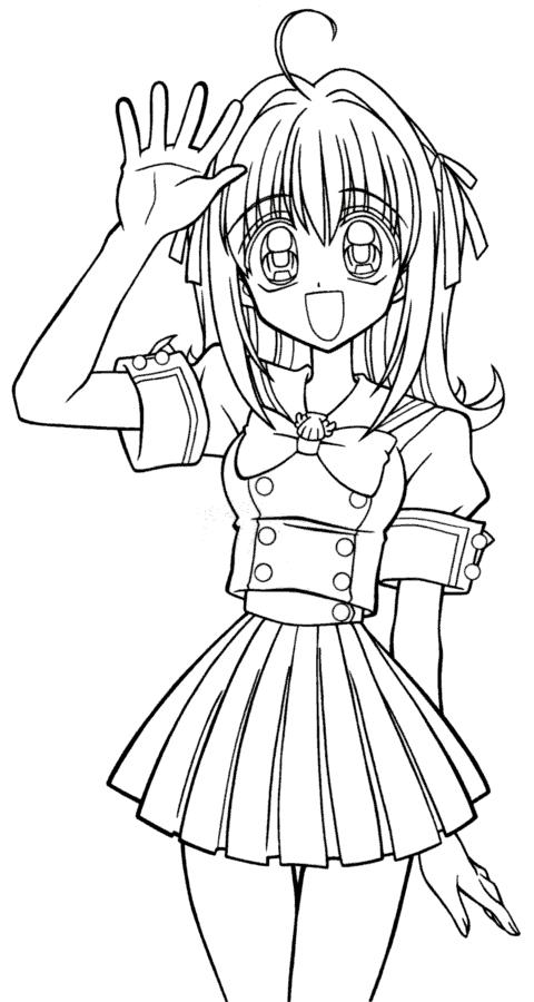 coloriage manga gratuit dessin a imprimer 81