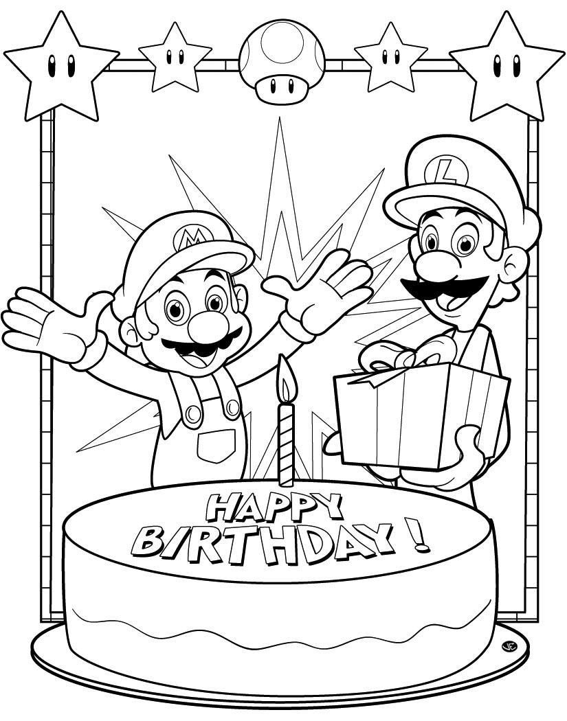 coloriage mario bros gratuit dessin a imprimer 275 - Coloriage Mario Imprimer
