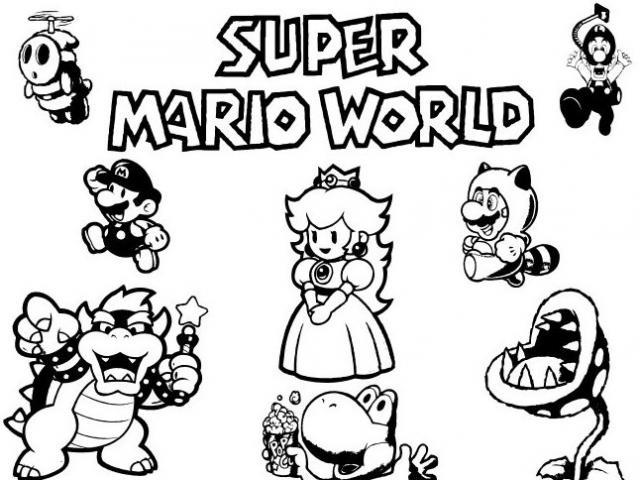 138 dessins de coloriage mario bros imprimer sur - Jeux pour dessiner gratuit ...