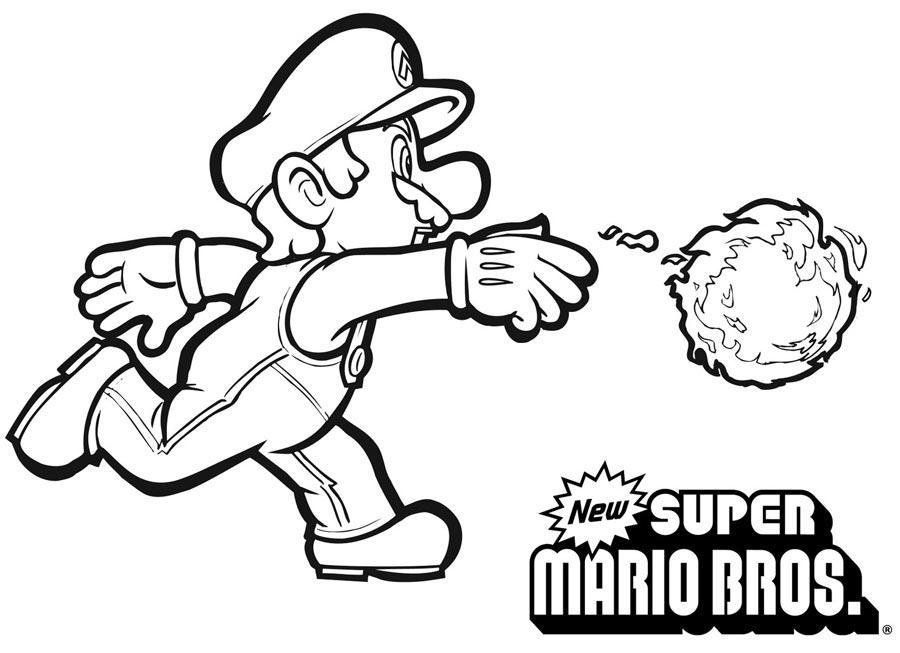 138 Dessins De Coloriage Mario Bros à Imprimer Sur LaGuerche.com