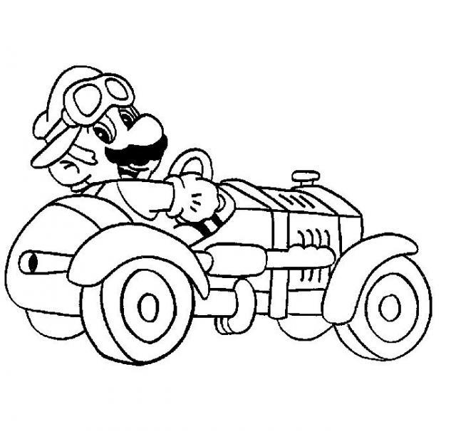 Coloriage A Imprimer Mario Kart.22 Dessins De Coloriage Mario Kart A Imprimer Sur Laguerche Com Page 1