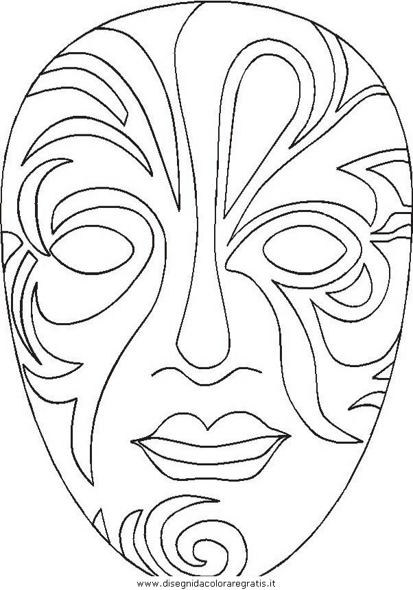 27 dessins de coloriage masque Afrique à imprimer sur ...