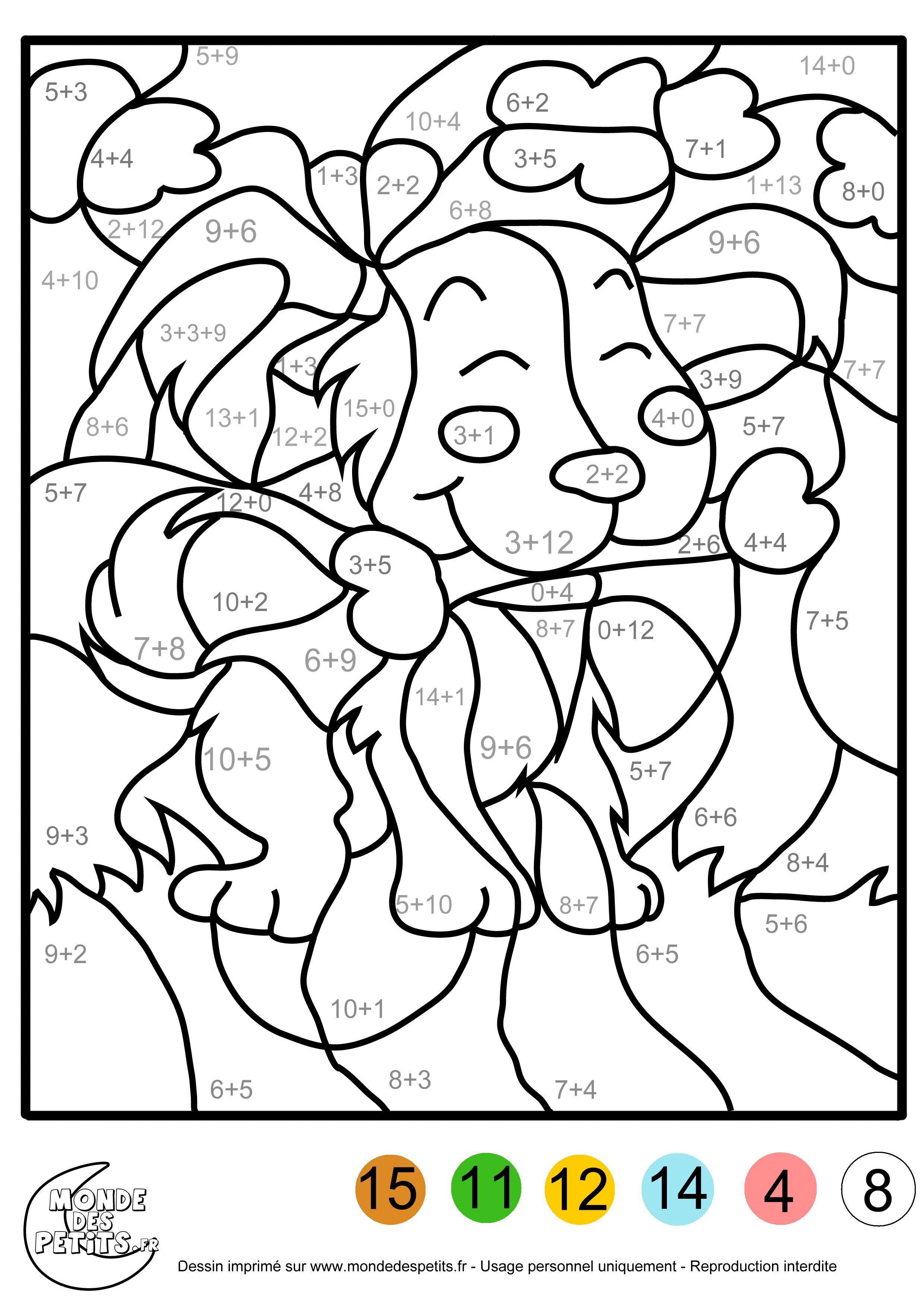 Préférence 19 dessins de coloriage mathématique à imprimer sur LaGuerche.com  IQ83