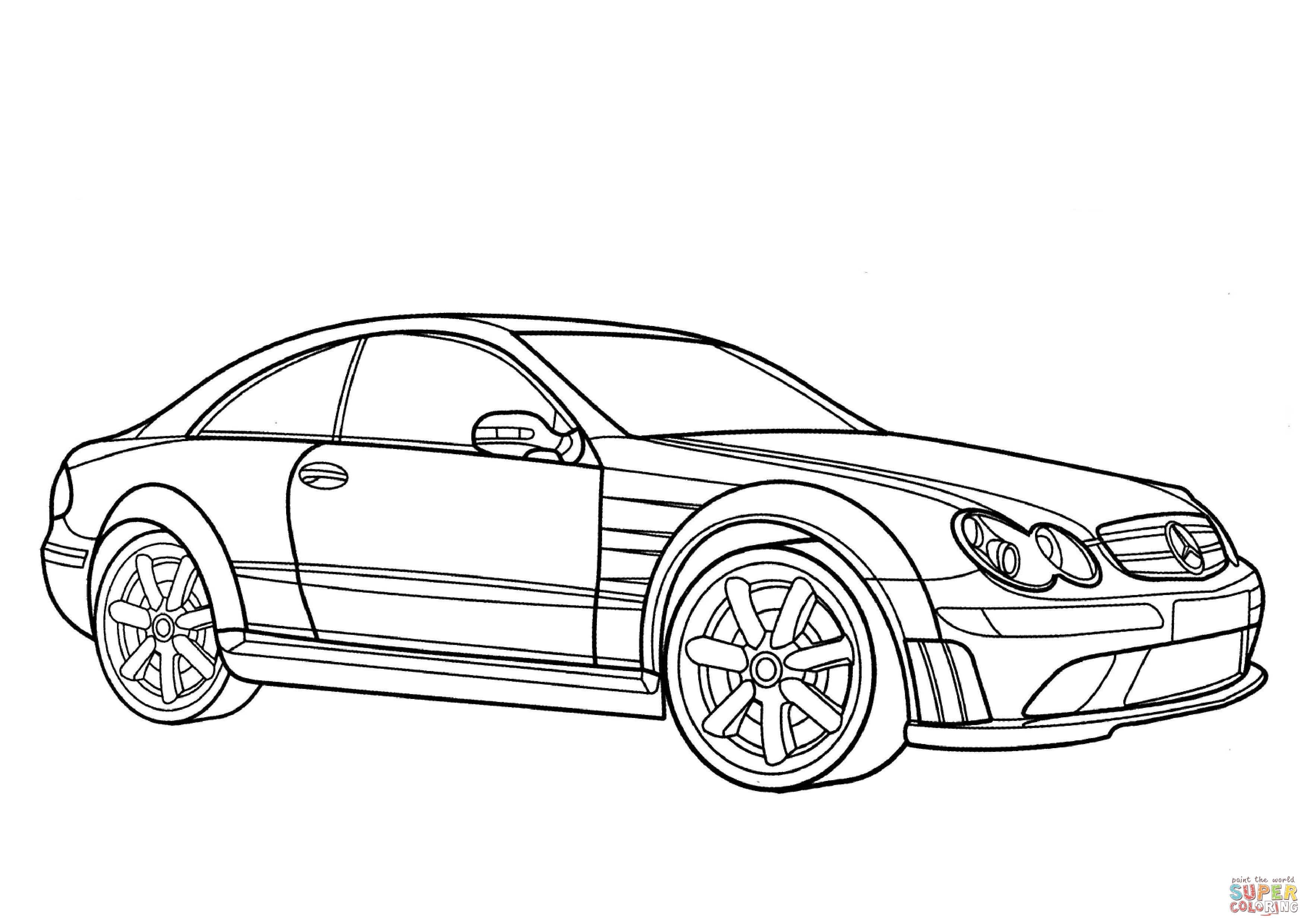 23 Dessins De Coloriage Mercedes 224 Imprimer Sur Laguerche