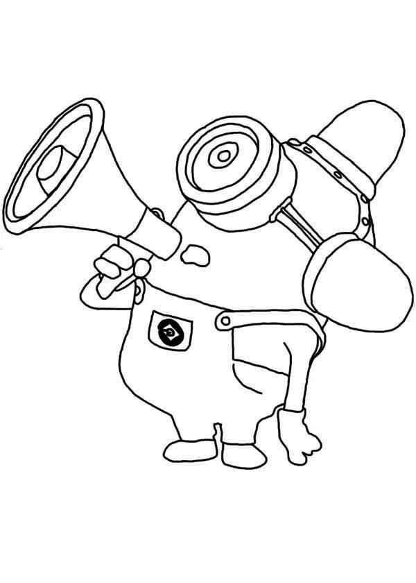 35 dessins de coloriage minion Dave à imprimer sur ...