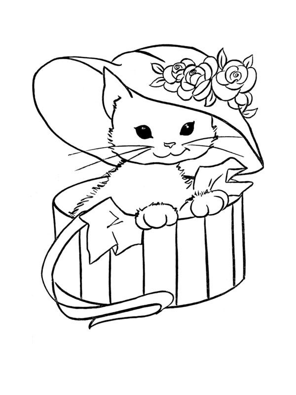 21 dessins de coloriage minou à imprimer sur laguerche com page 1