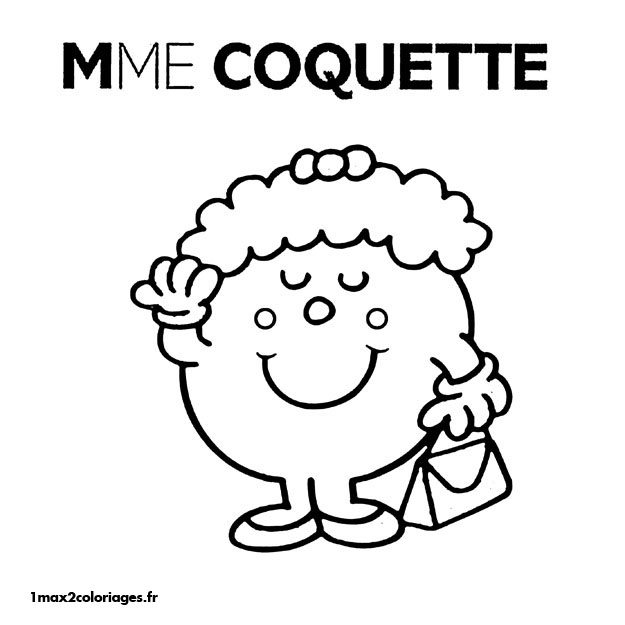 Attractive Image #25394   Coloriage Monsieur Madame Gratuit