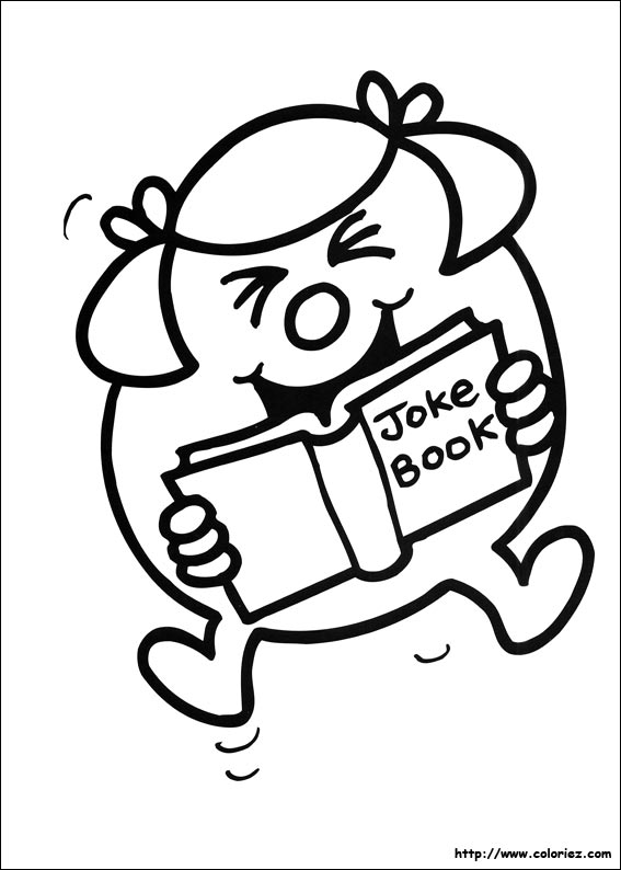 mr men books coloring pages - photo#28