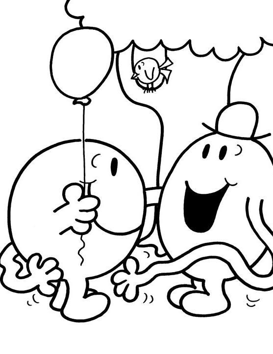 101 dessins de coloriage monsieur madame à imprimer sur ...