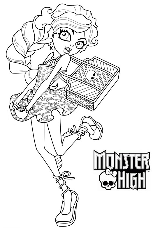154 dessins de coloriage monster high imprimer sur page 1 - Coloriage a imprimer monster high ...