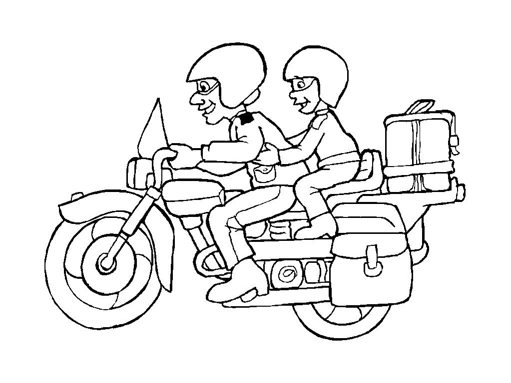s lection de dessins de coloriage moto imprimer sur page 5. Black Bedroom Furniture Sets. Home Design Ideas