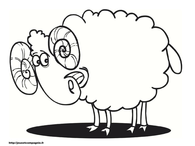 Souvent Sélection de coloriage mouton à imprimer sur LaGuerche.com - Page 2 UT42