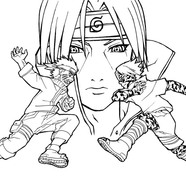 133 Dessins De Coloriage Naruto A Imprimer Sur LaGuerche