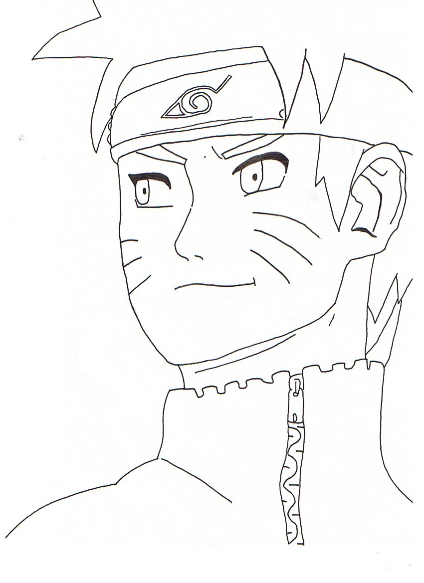 Dessin simple naruto - Naruto coloriage en ligne ...