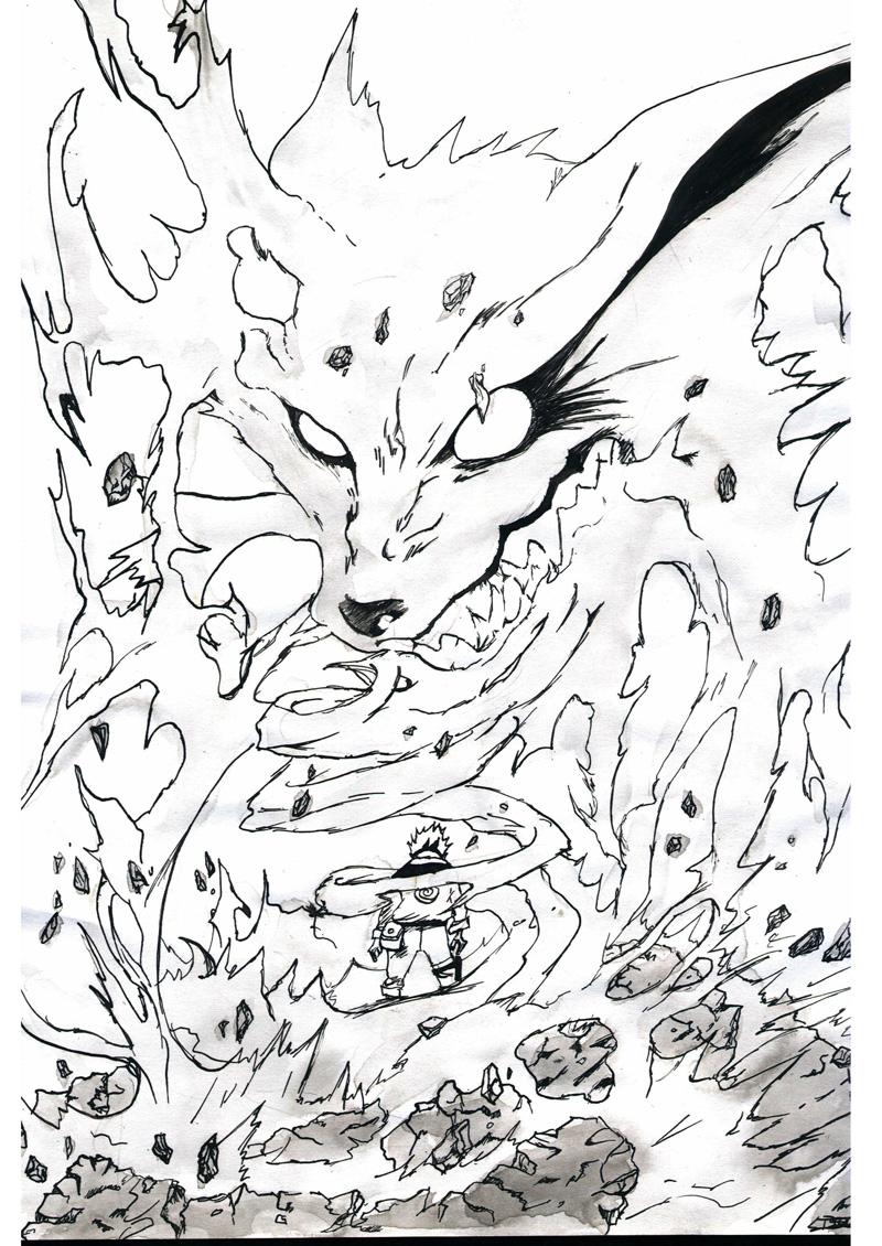 133 dessins de coloriage naruto imprimer sur page 3 - Naruto coloriage en ligne ...
