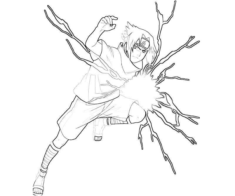 133 dessins de coloriage naruto imprimer sur laguerche - Coloriage sasuke ...