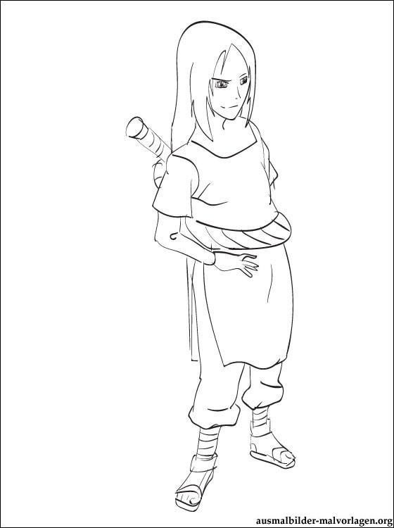 133 dessins de coloriage naruto imprimer sur page 9 - Coloriages naruto demon renard ...