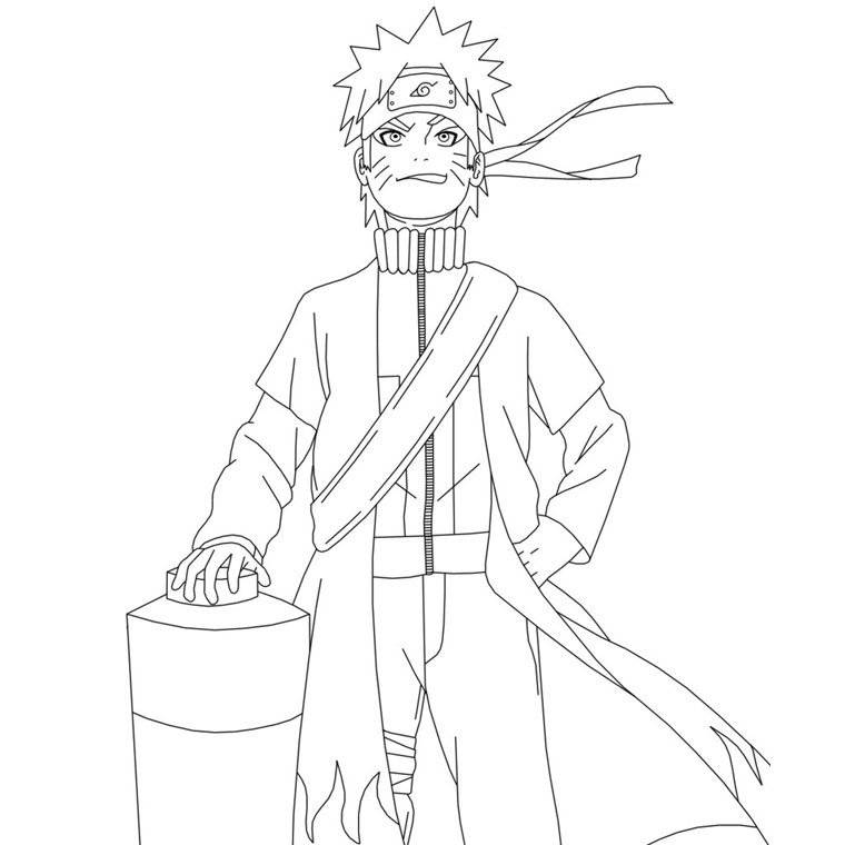 133 dessins de coloriage naruto imprimer sur laguerche - Coloriage naruto sasuke ...