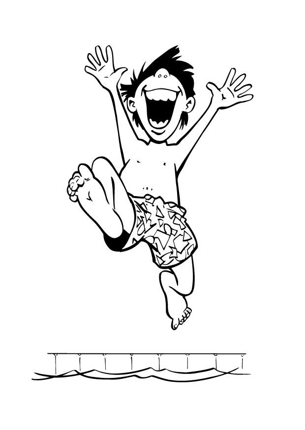 S lection de dessins de coloriage natation imprimer sur - Image coloriage ...